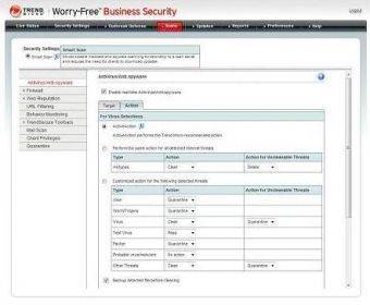 Trend Micro Worry-Free Business Security Advanced картинка №5167