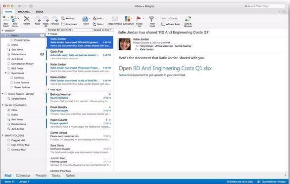 Microsoft Outlook Mac 2019 (OLP)