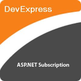 DeveloperExpress ASP.NET Subscription картинка №5771