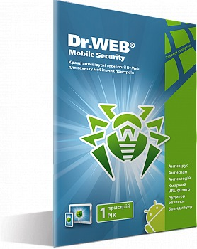 Dr.Web Mobile Security картинка №14096