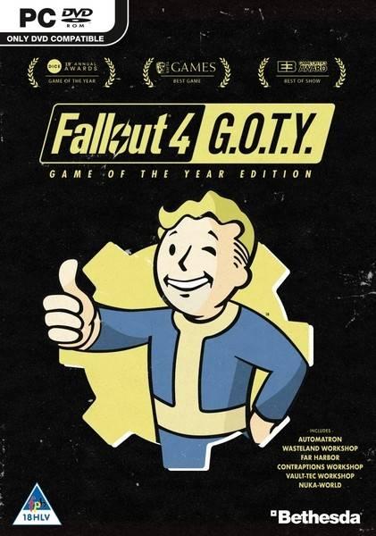 bethesda game studios Fallout 4 GOTY