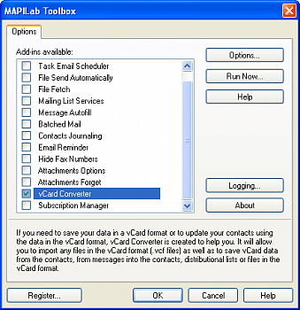 MAPILab Add Contacts for Outlook картинка №8991