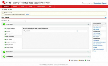 Trend Micro Worry-Free Business Security Services Advanced картинка №5150