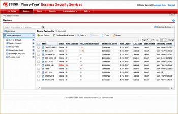 Trend Micro Worry-Free Business Security Services картинка №5160