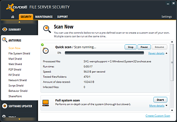 Avast File Server Security картинка №5482
