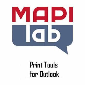 MAPILab Print Tools for Outlook картинка №9118