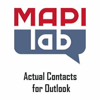 MAPILab Actual Contacts for Outlook картинка №8984