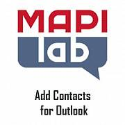 MAPILab Add Contacts for Outlook картинка №8988