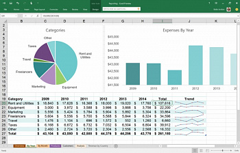 Microsoft Office Home and Business 2019 (BOX) картинка №13778