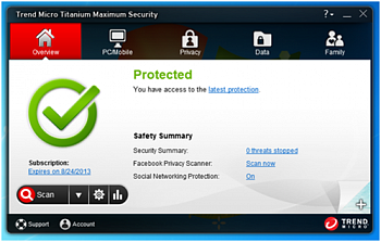 Trend Micro Maximum Security картинка №5179