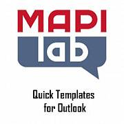 MAPILab Quick Templates for Outlook картинка №9122