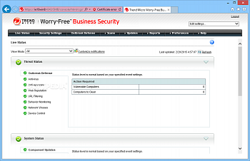 Trend Micro Worry-Free Business Security Services картинка №5161