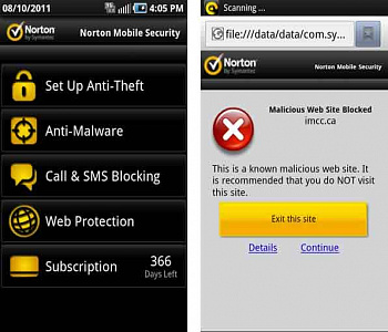 Norton Mobile Security картинка №14710