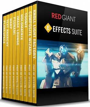 Red Giant Effects Suites картинка №7254