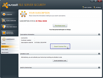 Avast File Server Security картинка №5483