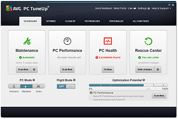 AVG PC TuneUp Business Edition картинка №5388