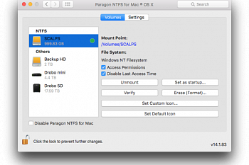 Paragon NTFS for Mac картинка №7074