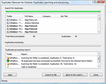 MAPILab Duplicates Remover for Outlook картинка №9091