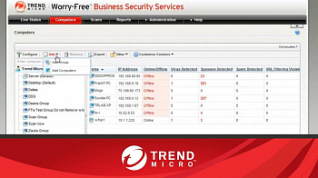 Trend Micro Worry-Free Business Security Services Advanced картинка №5151
