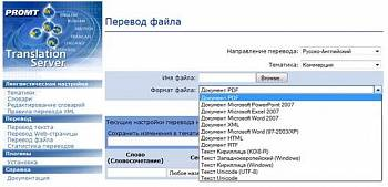 PROMT Translation Server картинка №7432