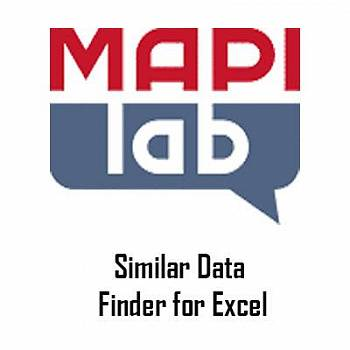 MAPILab Similar Data Finder for Excel картинка №9158