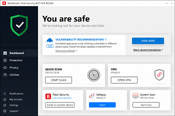 BitDefender Total Security Multi-Device картинка №15405