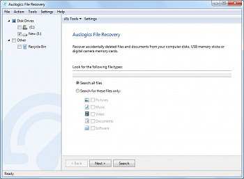 Auslogics File Recovery картинка №11868