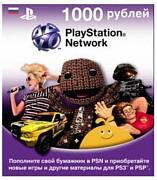 PlayStation Network номінал 1000 RUB картинка №3396