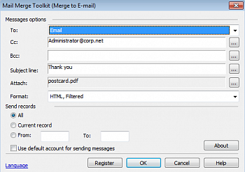 MAPILab Mail Merge Toolkit картинка №9106