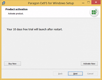 Paragon ExtFS for Windows картинка №6830