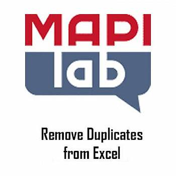 MAPILab Remove Duplicates from Excel картинка №9154
