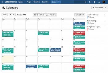 Atlassian Team Calendars картинка №3328