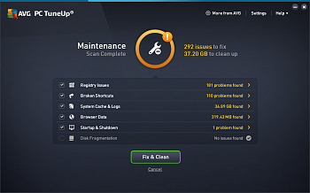 AVG Tune Up Unlimited картинка №8501