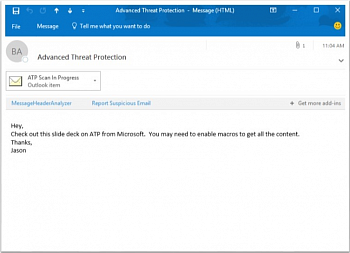 Microsoft Office 365 Advanced Threat Protection (OLP; подписка на 1 год) картинка №9827