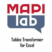 MAPILab Tables Transformer for Excel картинка №9162