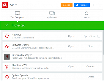 Avira Internet Security Suite картинка №13685
