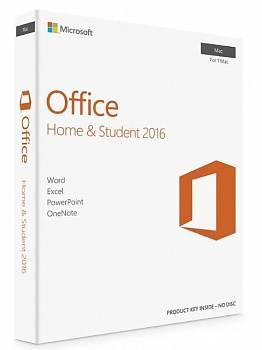 Microsoft Office Home and Student 2016 для MAC (BOX) картинка №9613
