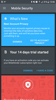 Bitdefender Mobile Security for Android картинка №8474