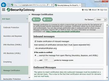Alt-N SecurityGateway for Email Servers картинка №12566